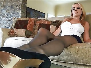 Randy Moore in Pantyhose