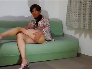 Lady Peachpie, Japanese Tuckpussy Crossdresser