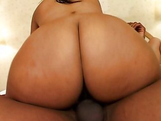 Big busty ebonies get their asses pimped