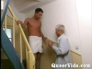 Gay guy needs cock in his mouth