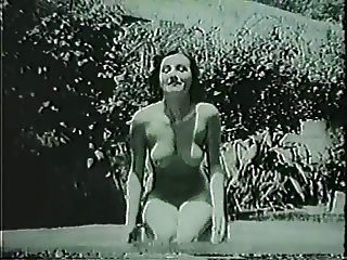 Unknown Pin-up at the Ice pool