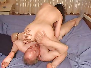 Mature Couple Fit, his 68 y.o.