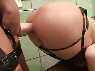 Slut Bitch Slave To Shoot Milk Out Of Her Butt