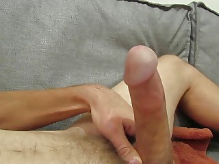 strong oozing creamy ejaculation