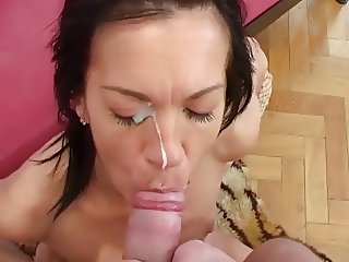 Penis massage with my moms mouth, hand and pussy...