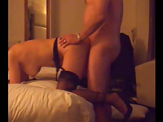 FF Stockings Milf Doggy Fuck