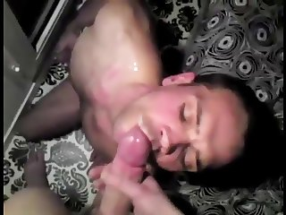 Sucking Married Cocks - Eating Thick Loads of Cum