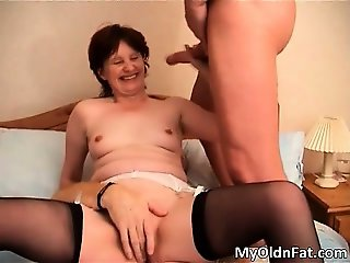 Brunette MILF slut with sexy body part3