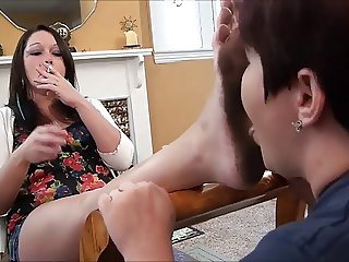 You missed 6 months of rent - Dirty Feet licking FF - OSE