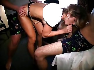 young chic getting fucked at the frat house
