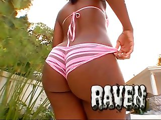 Raven Sky Bubble Butt Creampies