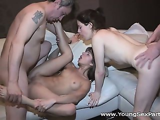 Young Sex Parties - Sharing girlfriends is fun