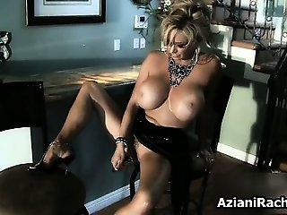 busty blonde with amazing tits shows part4