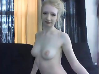 Blonde Camgirl Talks Dirsty in Private Show S967