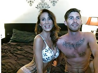 Sexy Couple Suck Fuck & Cum On Cam