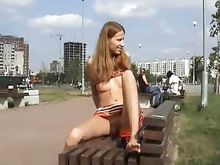 exhibitionist rusgirl for voyeurs