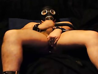 Gas Mask Wank