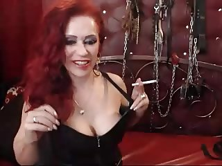 webcam leather gloves domina