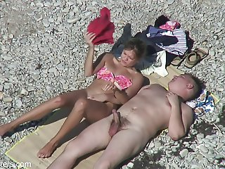 1 couple on beach