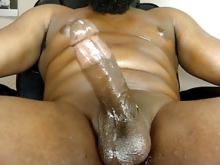 Thick Black Oily Cock Big Cum Load (TbbcCum)