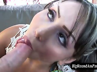Big ass latina fucks cock