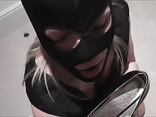 Dressed fetish facial