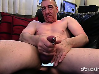 Pierced Straight Marc Jerking Off His Pecker