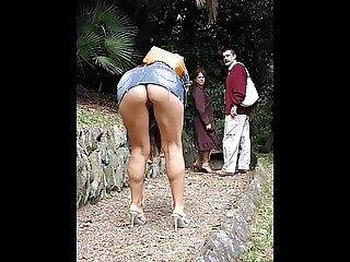 Exhibitionist matures (upskirts)