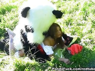 Little red riding hood fucking Panda
