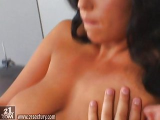 Anal at the hotel room with maid