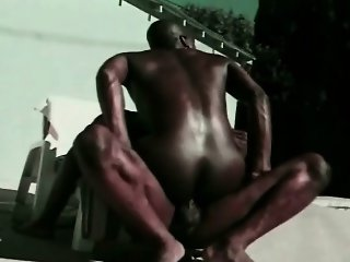 Black Ghetto Gay Lover do Anal Sex Outdoor