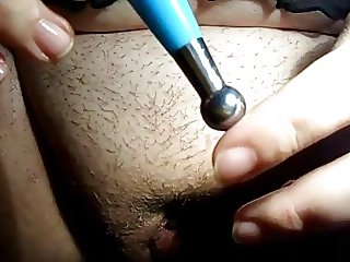 Female Urethra  Insertion Masturbation WF