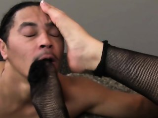 Sweet asian glamour babe fucks her man