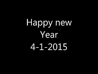 Happy New Year with Sex  XXX  4-1-2015