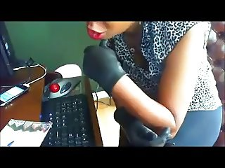 webcam gloves