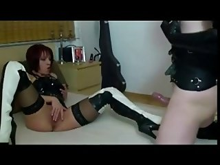 Latex fetish couple fucking