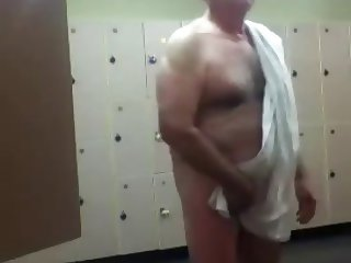 Gorgeous Grandpa at the Gym