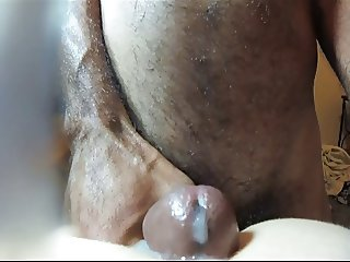 Amateur doggy clapping cumshot on camera lens real