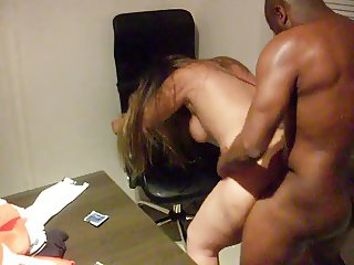 Brazilian cuckold wife gets fucked by black guy