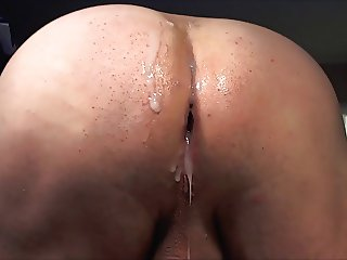 My sperm filled ass