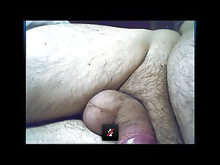 Chubby Grandpa Wanking and Cum