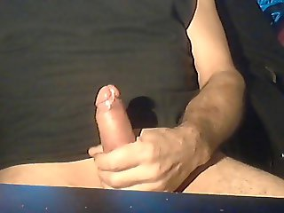 Morning stroke and cumshot by strongcock69