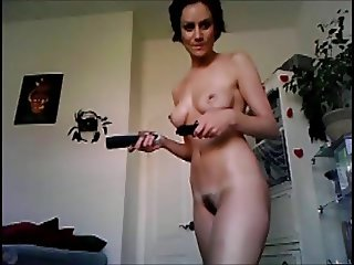 Naked at home