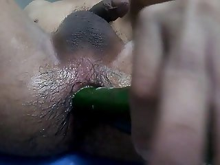 Singapore guy cucumber dildo part2