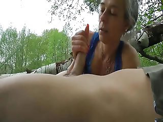 At the beach couple fucking