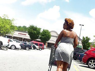 Beautiful Brown Skin In Sundress.