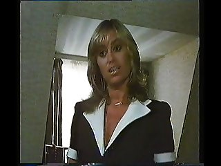 Susan George Black Bra & Panties