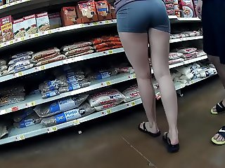 Long legs spandex shorts