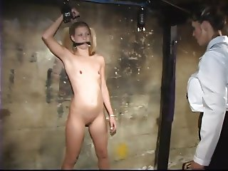 Young Lesbian With Tiny Titties Loves To Play BDSM