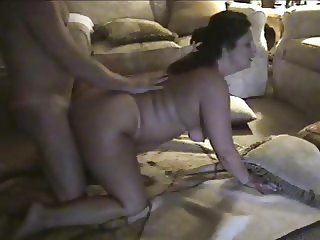 Buttfucking fat mom while her hubby is at work